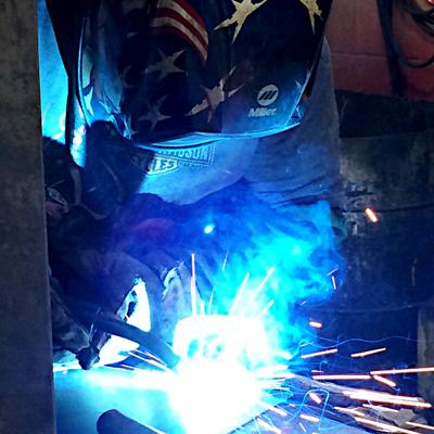 welding, fabrication, welding division, welding services, fabrication services, welder working