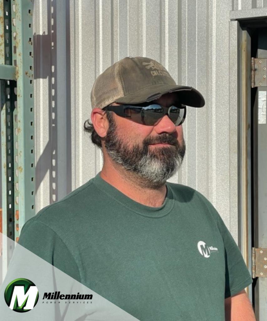 Jason Daniel of Millennium Power Services in Virginia, Hydraulics Manager Virginia, Millennium Power Services hydraulics